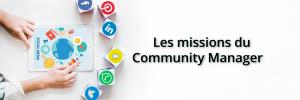 Les missions du community manager