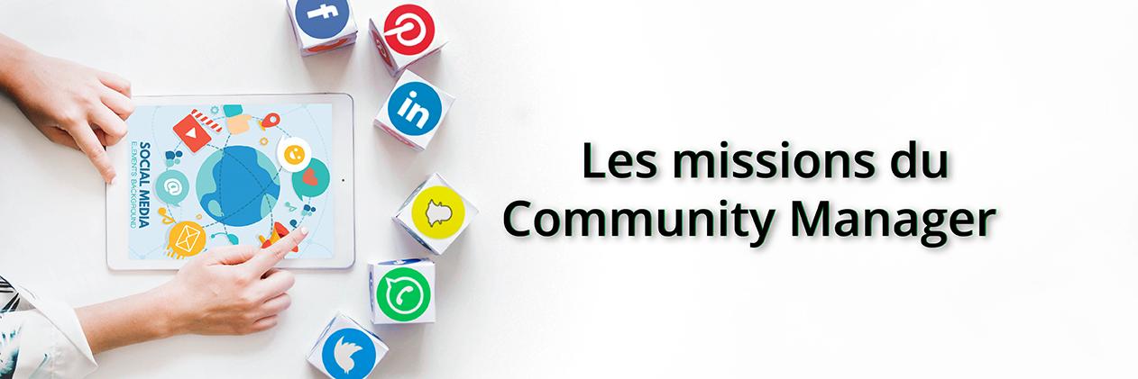 Image de couverture pour l'article sur les 5 missions du community manager