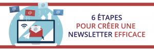 Créer une newsletter efficace en 6 étapes