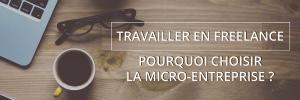 Travailler en Freelance: Pourquoi choisir la micro-entreprise?