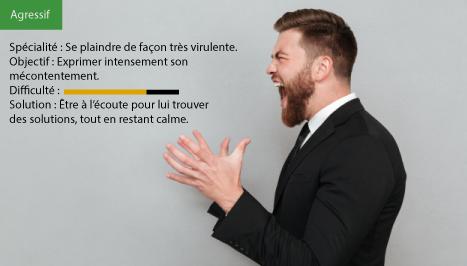 client-agressif