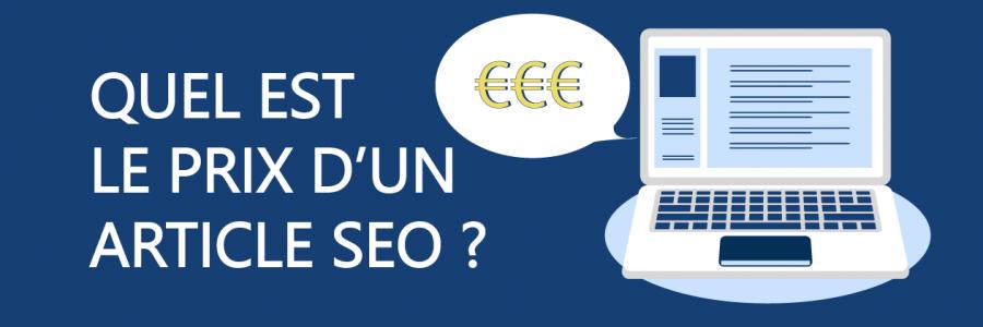 Quel est le prix d'un article SEO ?