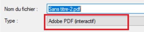 créer un pdf interactif sur indesign