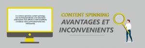 Quels sont les avantages et les inconvénients du content spinning ?
